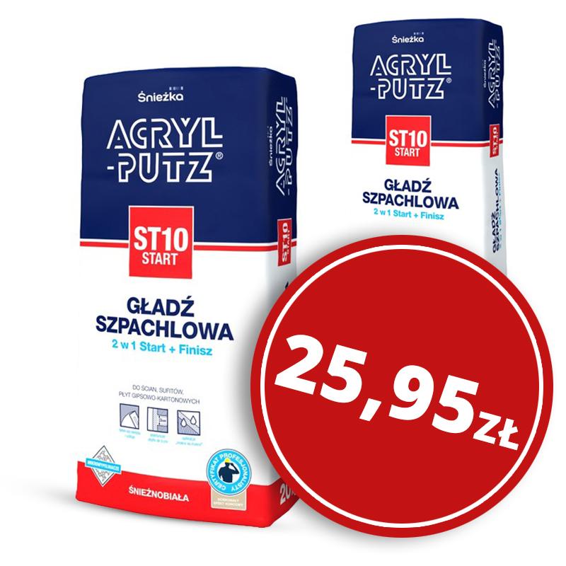 Masa szpachlowa acryl putz 20kg