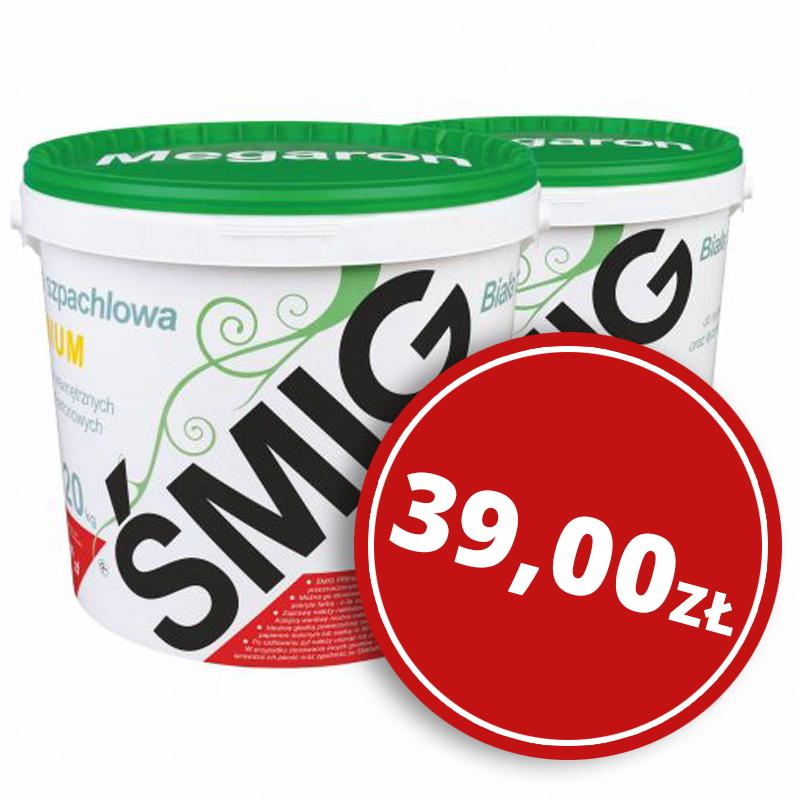 Zaprawa szpachlowa Śmig – 20kg